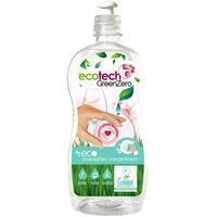 Lavavajillas mano eco piel sensible ECOTECH, botella 750 ml