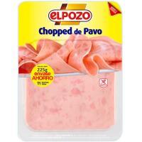 Chopped de pavo ELPOZO, bandeja 225 g