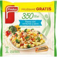 Pasta de verduras-pavo FINDUS, bolsa 350 g