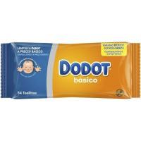 Toallitas DODOT Básico, paquete 54 unid.