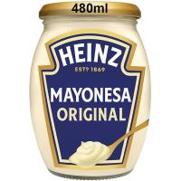 Mayonesa HEINZ, frasco 480 ml