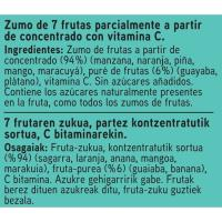Zumo tropical EROSKI, brik 1 litro