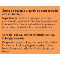 Zumo de naranja EROSKI, brik 1 litro