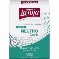 After Shave neutro LA TOJA, frasco 100 ml
