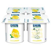 Yogur de limón KAIKU, pack 4x125 g
