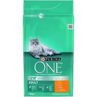 Alimento de pollo gato adulto Bifensis PURINA One, saco 1,5 Kg