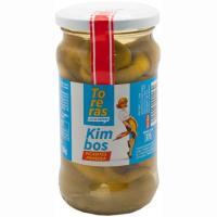 Aceitunas gordal con guindilla picante KIMBO, frasco 150 g