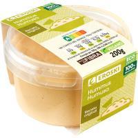Hummus con aceite de oliva EROSKI, tarrina 200 g