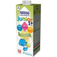 Leche crecimiento junior 1+ bajo en lactosa NESTLÉ, brik 1 litro