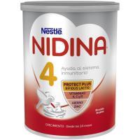 Leche de crecimiento NESTLÉ Nidina 4 Premium, lata 800 g