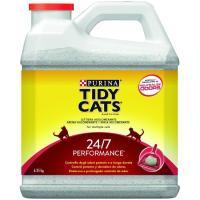 Arena aglomerante performance 24/7 TIDY CATS, garrafa 6,35 kg