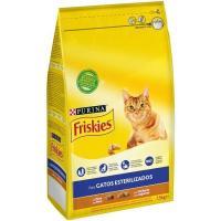 Alimento de pavo gato esterilizado FRISKIES, saco 1,5 kg