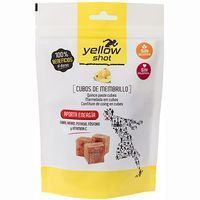 Membrillo en cubos sports YELLOW SHOT, bolsa 125 g