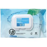 Papel higiénico húmedo biodegradable EROSKI, paquete 80 unid.
