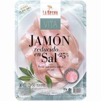 Pechuga de pavo reducido en sal 25% LA SELVA Vita, bandeja 100 g