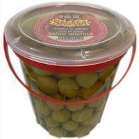 Aceitunas sabor anchoa SARASA, tarrina 450 g