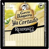 Queso cortado mezcla reserva 12 meses G. BAQUERO, cuña 200 g