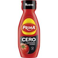Ketchup cero PRIMA, bote 325 g