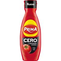 Ketchup cero PRIMA, bote 570 g