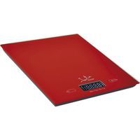 Balanza de cristal roja JATA, 5kg