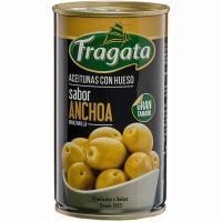 Aceitunas de manzanilla sabor anchoa FRAGATA, lata 180 g