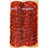 Chorizo ibérico bellota corte tradicional MONTARAZ, sobre 100 g