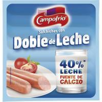 Salchichas de doble de leche CAMPOFRÍO, sobre 140 g