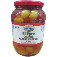 Aceitunas caseras EL FARO, frasco 500 g