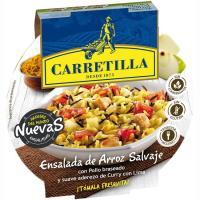 Ensalada de arroz salvaje CARRETILLA, bol 220 g