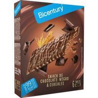 Barrita de chocolate negro BICENTURY, 120 g