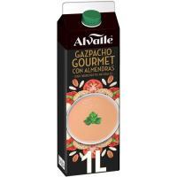 Gazpacho gourmet con almendras ALVALLE, brik 1 litro