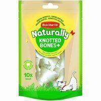 Huesos mini nudos para perro NATURALLY, paquete 10 uds.