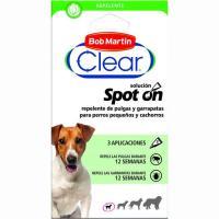 Pipeta repelente para cachorro-perro pequeño CLEAR, pack 3 unid.
