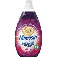 Suavizante estallido de pasión MIMOSIN Intense, botella 58 dosis