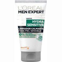 Gel limpiador calmante L`OREAL Men Expert, tubo 150 ml