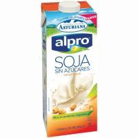 Bebida de soja sin azucares ALPRO, brik 1 litro