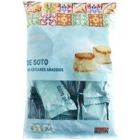 Mazapán de Soto sin azúcar Eroski SELEQTIA, bolsa 400 g