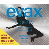 Compresa noche con alas EVAX Liberty, paquete 9 uds