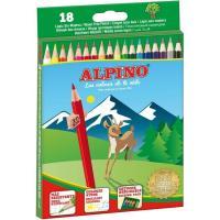 Lapices de colores ALPINO, 18uds