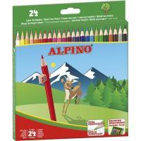 Lápices colores ALPINO, 24uds