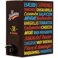 Vermut Rojo EL BANDARRA, bag in box 3 litros