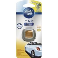 Ambientador coche deshechable antitabaco AMBIPUR, pack 1 unid.