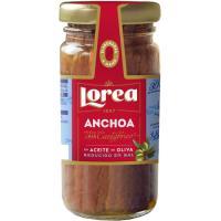 Anchoa bajo sal LOREA, frasco 55 g