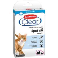 Pipeta fipronil para gato CLEAR, pack 2 unid.