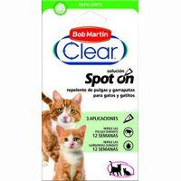 Pipeta repelente para gatito-gato CLEAR, pack 3 unid.