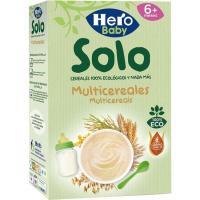 Papilla multicereales ecológicos HERO, caja 300 g