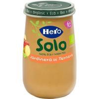 Potito ecológico a la jardinera de ternera HERO, tarro 190 g