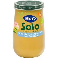 Potito ecológico de dorada con verduritas HERO, tarro 190 g