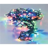 Guirnalda de Navidad con 120 luces Led multicolor con controlador de 8 funciones.