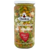 Macedonia de verduras sin sal DANTZA, frasco 400 g